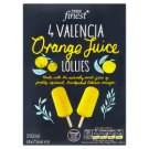 Tesco Finest Frozen Orange Juice on Stick 4 x 73ml