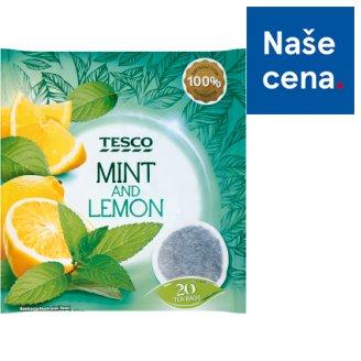 Tesco Bylinný čaj mátový s citronovou příchutí 20 x 2g