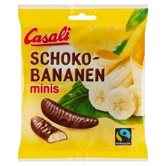 Casali Pěnová cukrovinka s banánovou dření máčená v čokoládě 125g