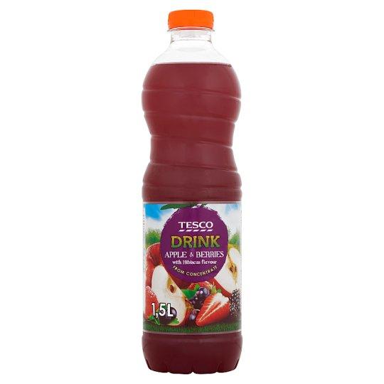 Tesco Nealkoholický nápoj ovocný vícedruhový s příchutí ibišku 1,5l