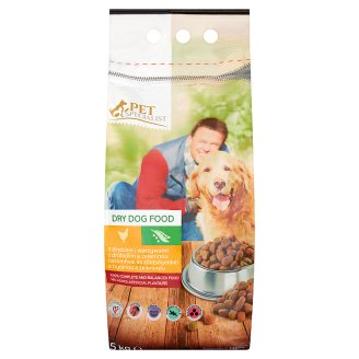 Tesco Pet Specialist Dry Dog Food with Poultry and Vegetables 5kg