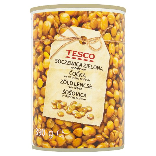 Tesco Lentil in Salted Water 390g