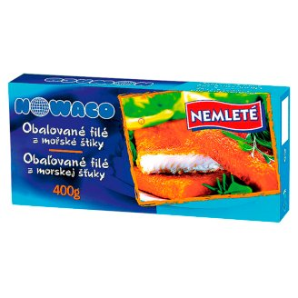 Nowaco Breaded Fish Fillets 400g