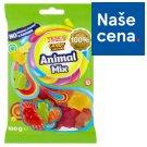 Tesco Candy Carnival Animal Mix želé s ovocnými příchutěmi 100g