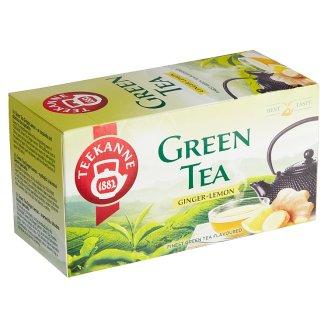 TEEKANNE Zelený čaj se zázvorem a citrónem, 20 sáčků, 35g
