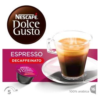 NESCAFÉ® Dolce Gusto® Espresso Decaffeinato - Coffee Capsules - 16 Capsules in a Pack