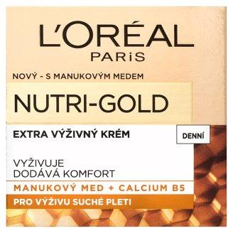 image 1 of L'Oréal Paris Nutri-Gold Extra Nutrient Day Cream 50ml