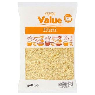 Tesco Value Filini těstoviny bezvaječné sušené 500g