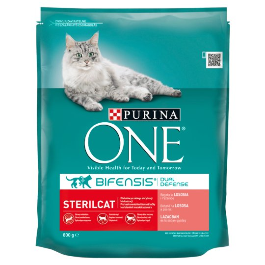 Purina ONE Sterilcat Rich in Salmon and Wheat 800g