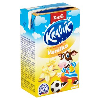 Tatra Kravík Milk with Vanilla Flavour 250ml