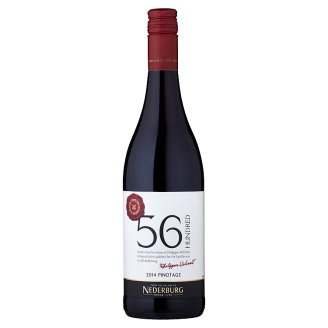 Nederburg 56 Hundred Pinotage polosuché červené víno 750ml