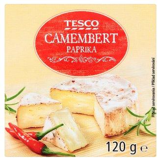 Tesco Camembert Paprika 120g