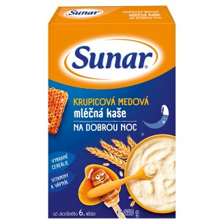 Sunárek Semolina Honey Milk Mash for Good Night