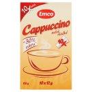 Emco Cappuccino méně sladké 10 x 12g