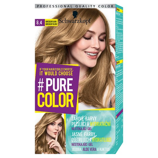 Schwarzkopf Pure Color barva na vlasy Minerální Blond 8.4