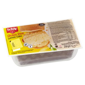 Schär Lemon cake jemné pečivo bez lepku s citrónovou příchutí 250g