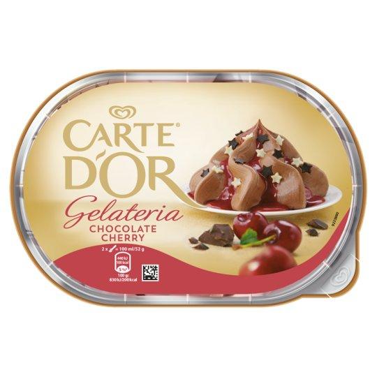 Carte d'Or Gelateria Chocolate Cherry čokoládová zmrzlina 900ml