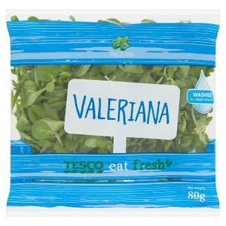 Tesco Eat Fresh Valeriana 80g