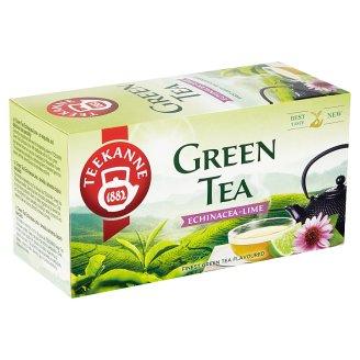 TEEKANNE Green Tea Echinacea-Lime, zelený čaj s čajem ovocným a bylinným, 20 sáčků, 35g