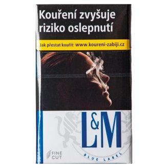L&M Blue label 20 cigaret s filtrem