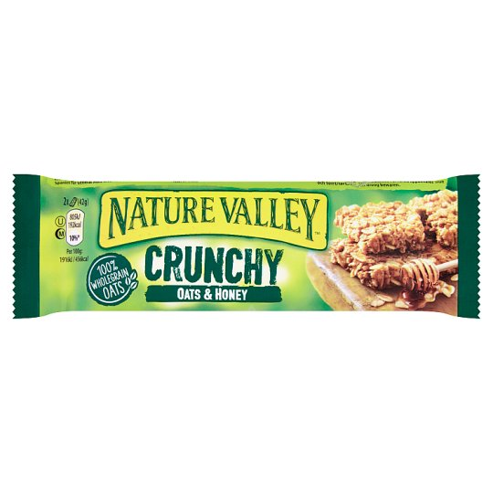 Nature Valley Oats & Honey Muesli Bars 42g