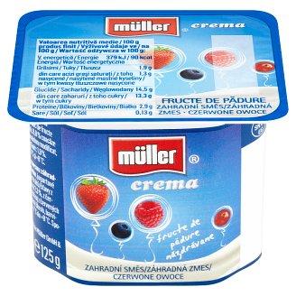 Müller Crema Yogurt Different Flavors 125g