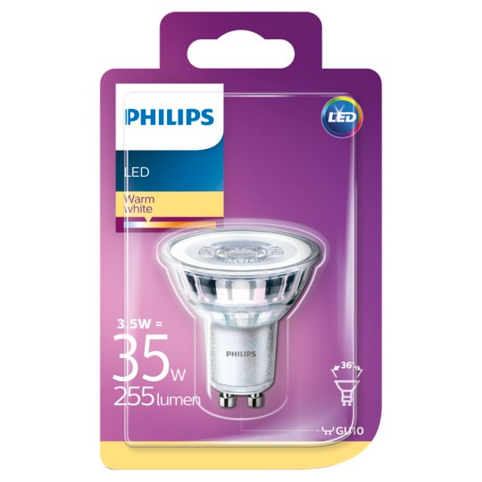Philips Bulb LED 3.5W (35W) E14 Warm White