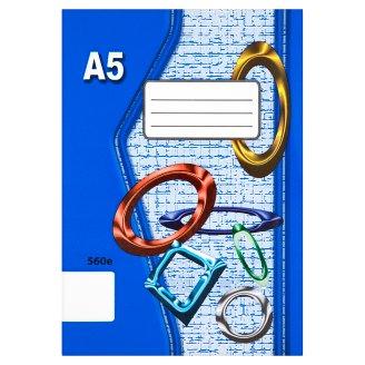 Papírny Brno 560e školní sešit A5 nelinkovaný 60 listů
