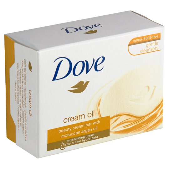 Dove Argan Oil Cream Tablet for Washing 100g