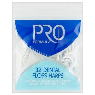 Tesco Pro Formula Dental Floss Harps 32 pcs