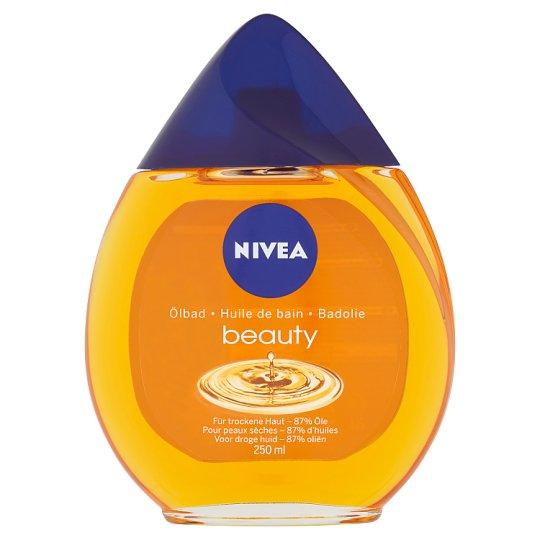 Nivea Beauty Pečující olej do koupele 250ml