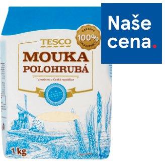 Tesco Mouka polohrubá 1kg
