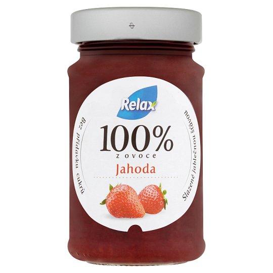 Relax 100% z ovoce jahoda 220g