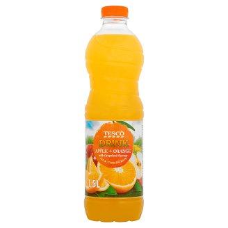 Tesco Nealkoholický nápoj jablečno-pomerančový s příchutí grapefruitu 1,5l
