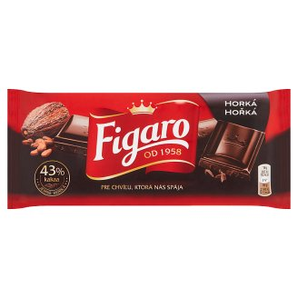 Figaro Dark Chocolate 90g