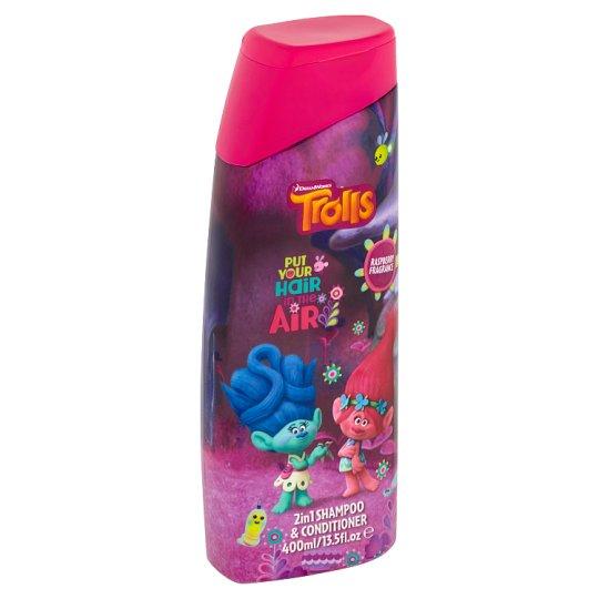 Trollové - šampon a kondicionér 2v1 pro děti 400ml