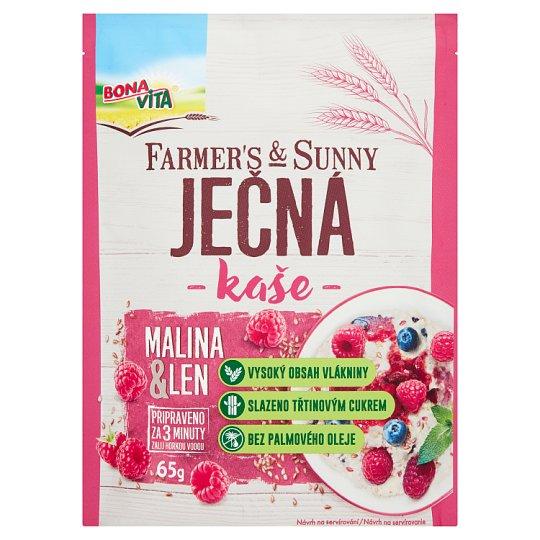 Bona Vita Farmer's & Sunny Mashed Raspberry & Flax 65g