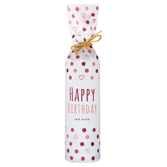 Happy Birthday Medina Sweet Red Wine 0.75L