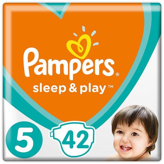 Pampers Sleep&Play V5, 42Plenek, 11-16kg Důvěrný Pocit Sucha