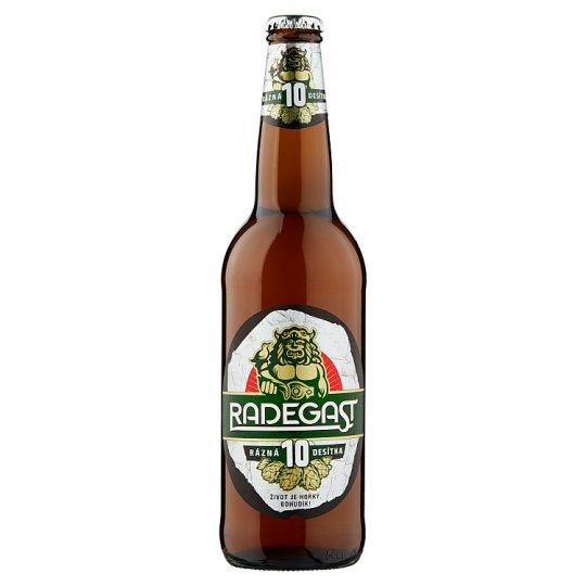 Radegast Rázná 10 pivo výčepní světlé 500ml