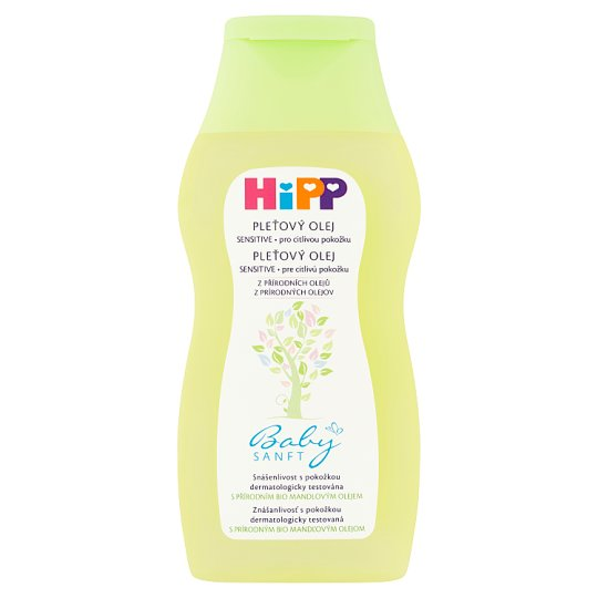 HiPP Babysanft Sensitive pleťový olej pro citlivou pokožku 200ml