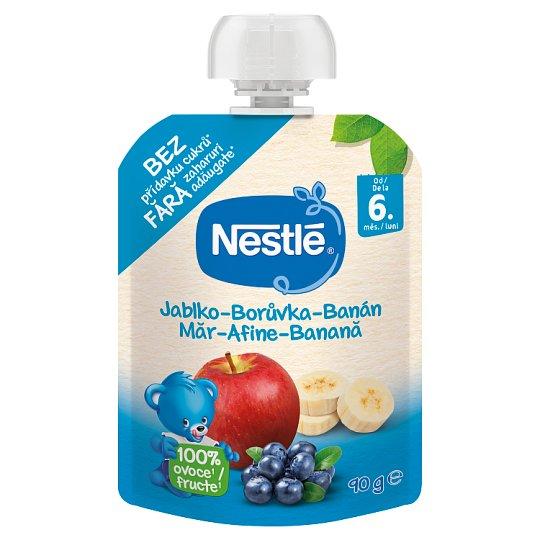 Nestlé Min Frukt Ovocná kapsička jablko - borůvka  - banán 90g
