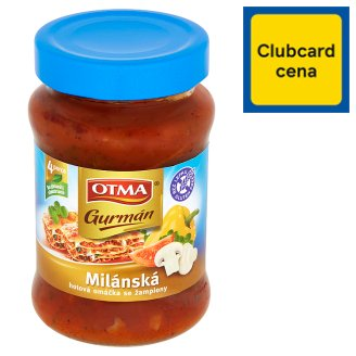 Otma Gurmán Milanese Sauce with Mushrooms 350g