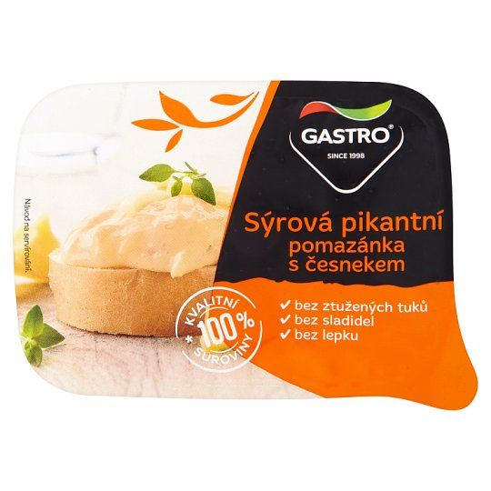 Gastro Spicy Cheese Spread with Garlic 120g