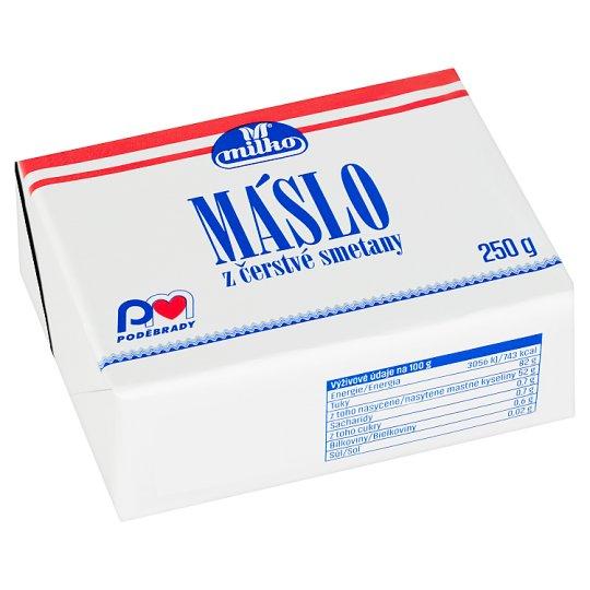 Milko Čerstvé máslo 250g