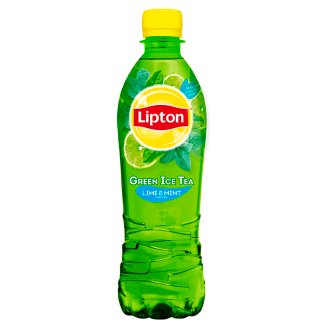 Lipton Ice Green Tea Flavored with Lime and Mint 0.5L