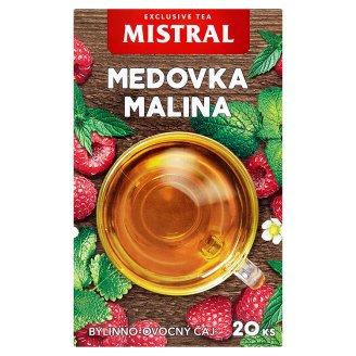 Mistral Bylinně ovocný čaj meduňka, máta s příchutí maliny 20 x 1,5g