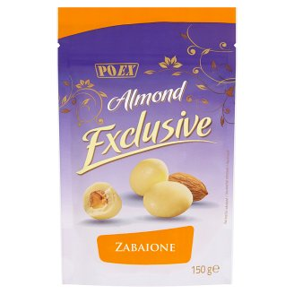 Poex Almond Exclusive Zabaione Almonds in White Chocolate 150g