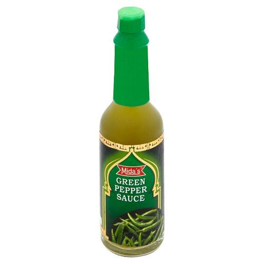 Mida's Mida's Ostrá chilli omáčka zelená typu tabasco 70g