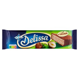 ORION Delissa Wafer with Hazelnut Filling Dipped in Milk Chocolate 33g
